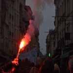 Manifestation contre l'expulsion de la ZAD de NDDL le 9 avril 2018 photo n°9